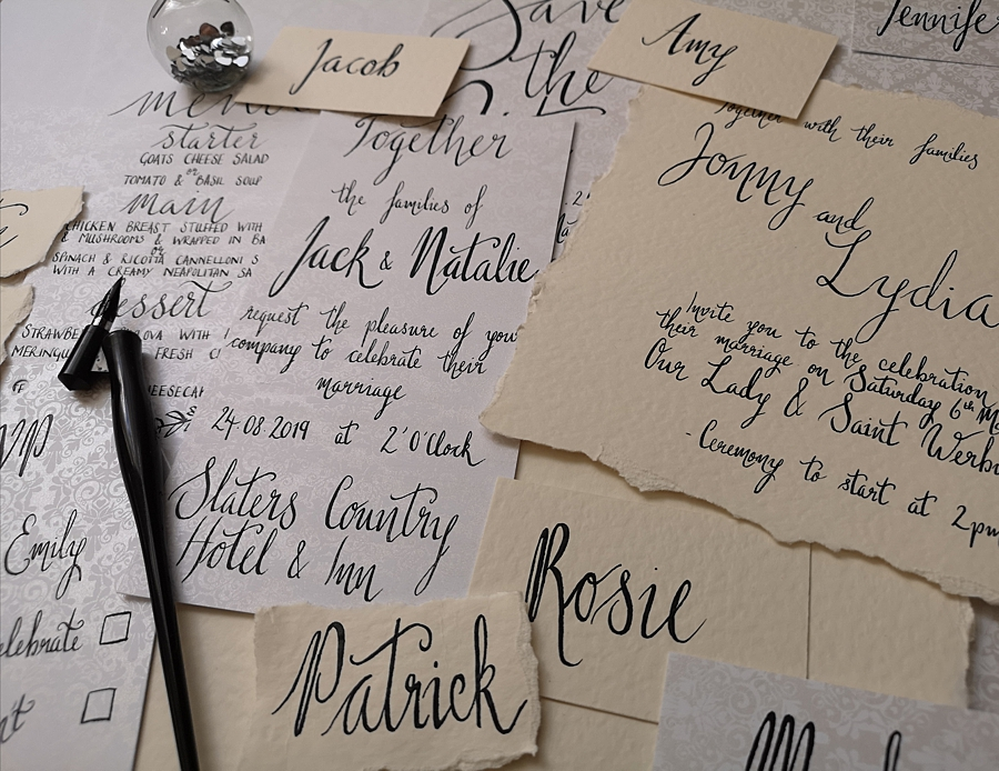 wedding scribe